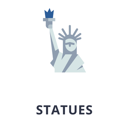 Statues icon